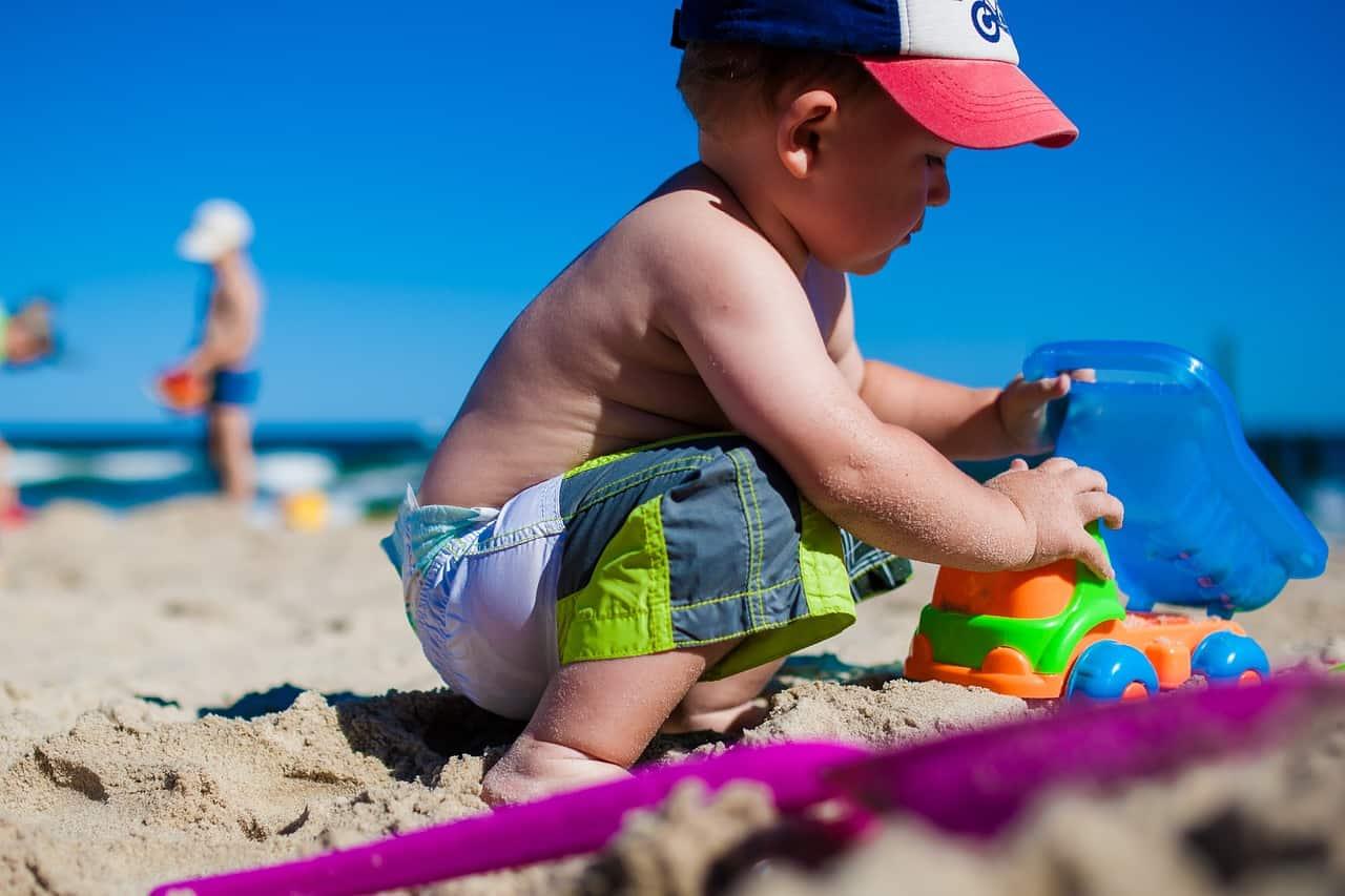 igranje na plaži