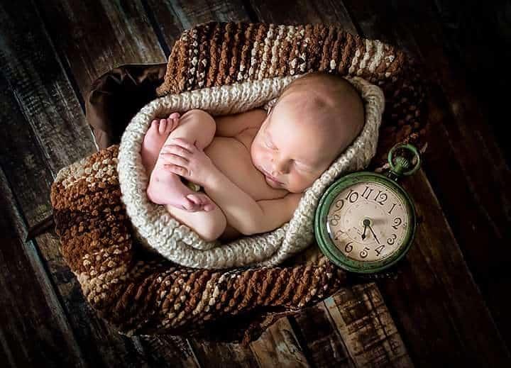 spavanje male bebe