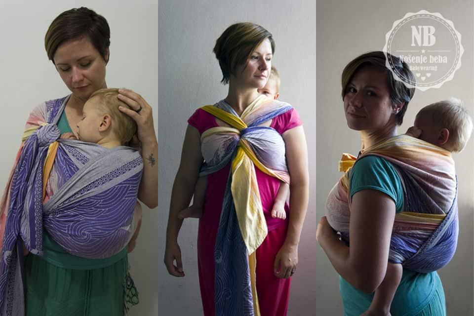 pravilno nosenje beba i djece u nosiljkama