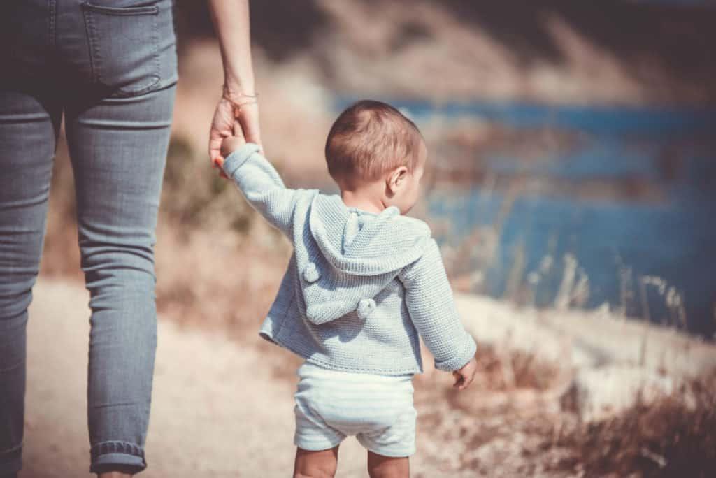 smireni roditelj i dijete