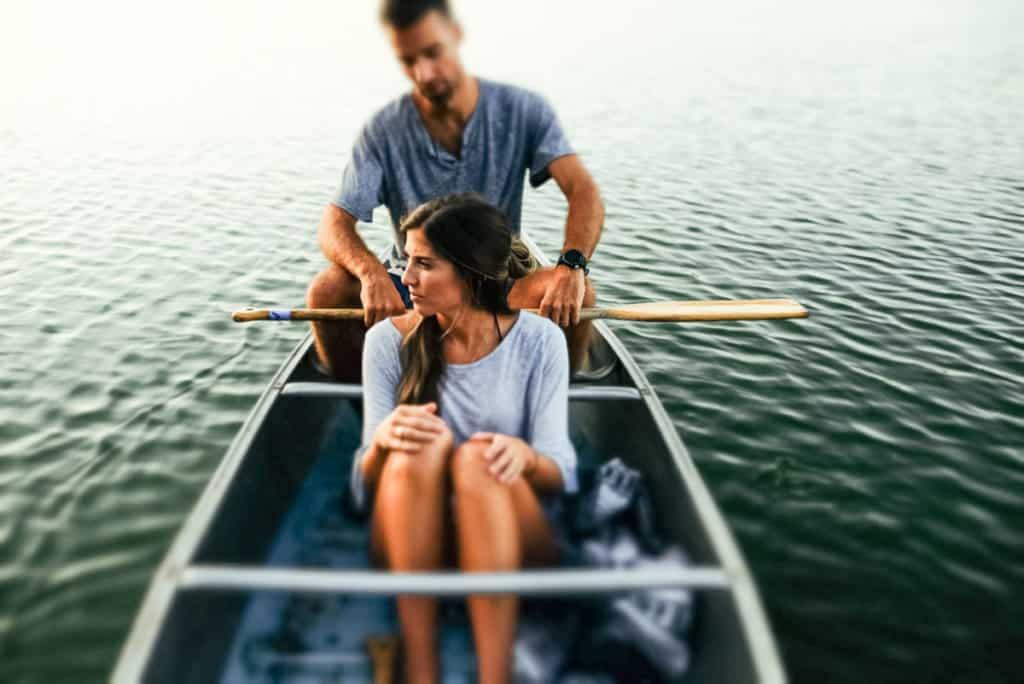 muz i zena na brodu